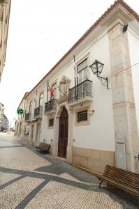 Entrada do Edifício Sede na Rua Serpa Pinto